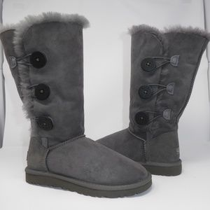 02085c46023 New UGG Bailey Button Triplet Boots